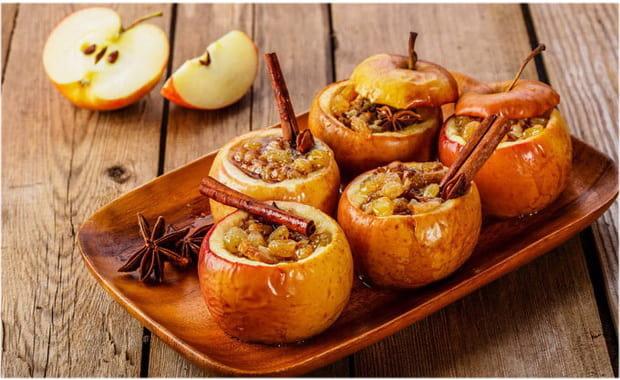 Как приготовить печеные яблоки в духовке по рецепту с фото