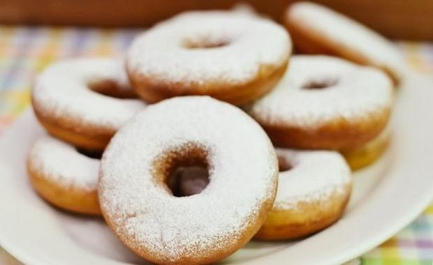 Классический пошаговый рецепт пончиков с фото