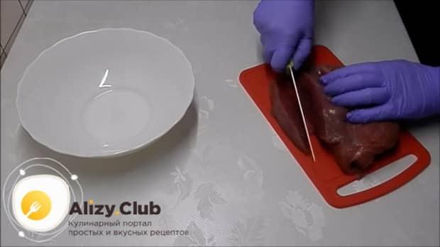 Готовим суп рассольник с перловкой и солеными огурцами