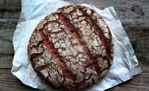 Рецепт ржаного хлеба на закваске с солодом