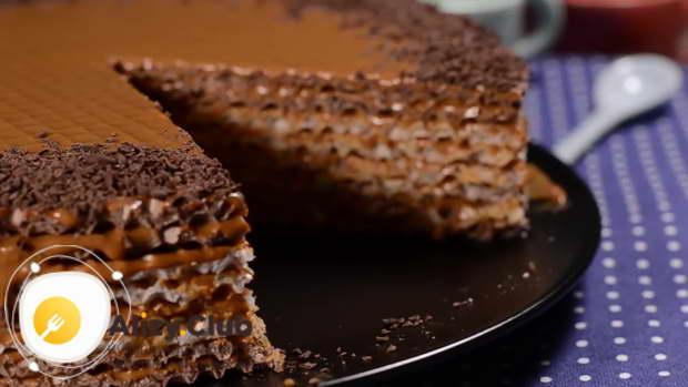 секреты выпекания вафельного торта со сгущенкой
