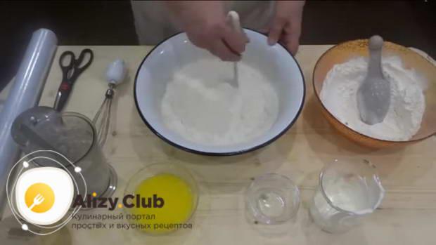 тесто для шанег с картошкой с дрожжами