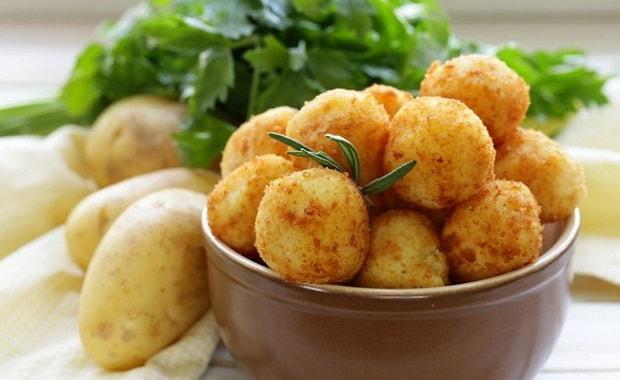 Как приготовить картофельные шарики по пошаговому рецепту с фото