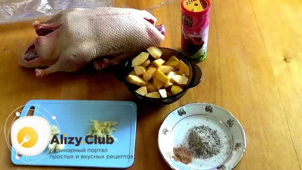 советы по выпеканию утки в рукаве