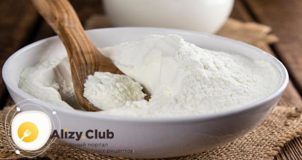 узнайте как правильно развести сухое молоко для блинов