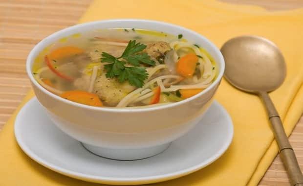 Как приготовить вермишелевый суп с курицей по пошаговому рецепту с фото