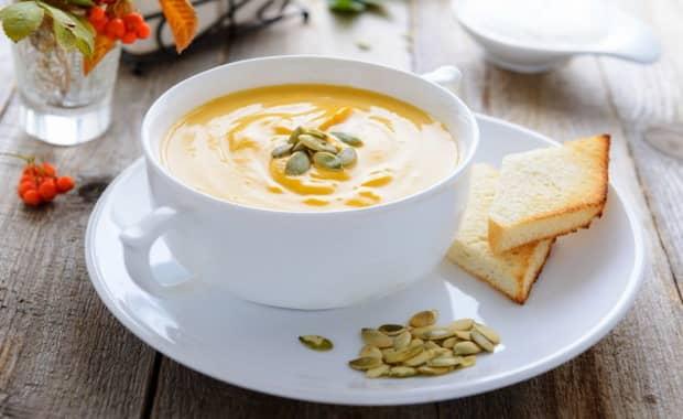 Как приготовить суп-пюре из тыквы по пошаговому рецепту с фото