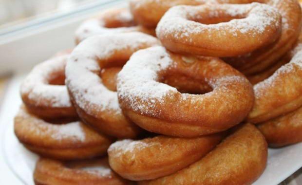 Рецепт теста для пончиков
