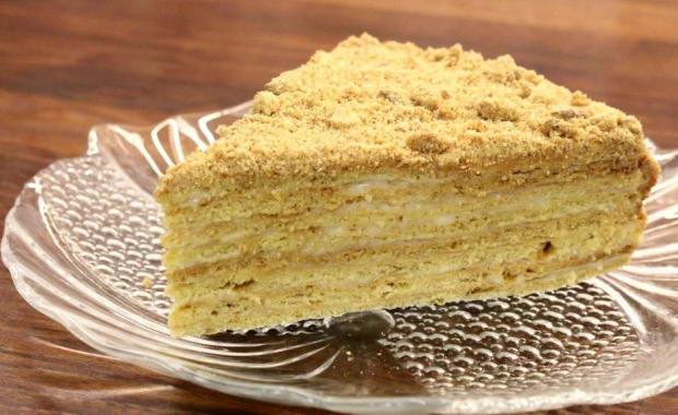 Пошаговый рецепт приготовления торта Чудо с фото