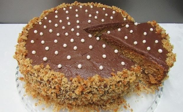 Как приготовить постный торт по пошаговому рецепту с фото