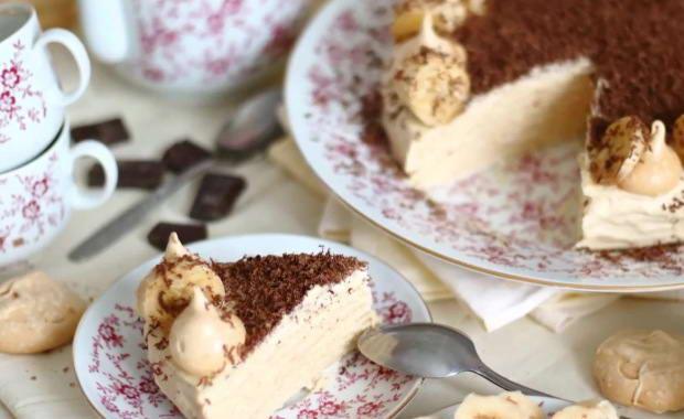 Пошаговый рецепт приготовления вафельного торта с фото
