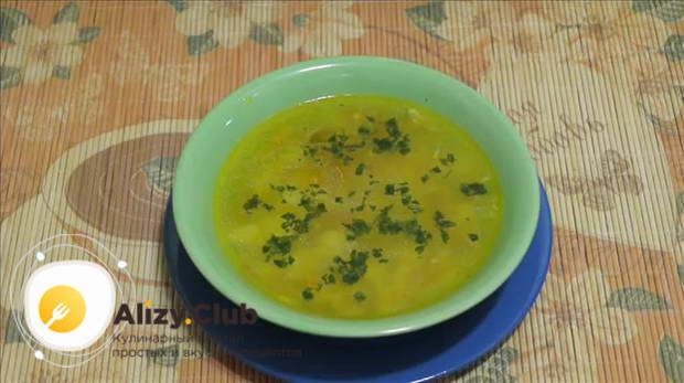 варианты подачи вермишелевого супа