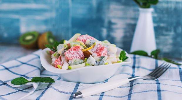 варианты приготовления фруктового салата с йогуртом