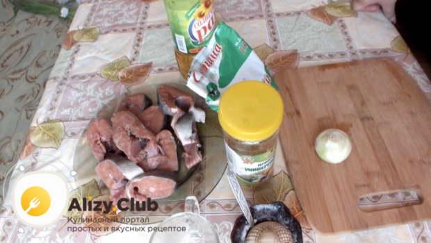 жареная горбуша под соусом как выбрать продукты