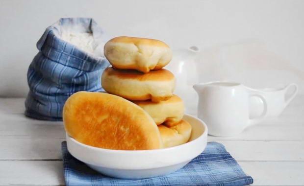 Пошаговый рецепт приготовления жареных пирожков с мясом