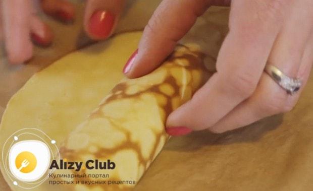 По этому рецепту можно также приготовить блины с яблоками и корицей.