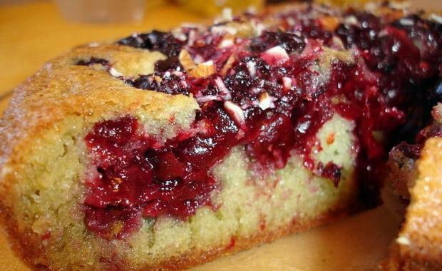 Пирог с замороженной вишней в мультиварке рецепты с фото