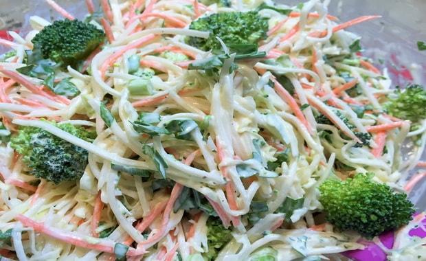 Салат из редьки пошаговый рецепт с